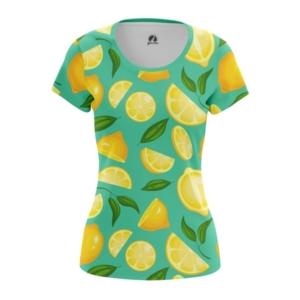 Женская футболка Лимоны Еда - main or7d7mlr 1571908559