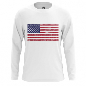 Мужской лонгслив Флаг США Мерч Атрибутика - main ozitmokl 1564417271