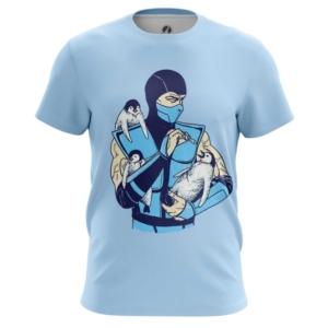 Мужская футболка Саб зиро пингвины Мортал Комбат - main p87c5teo 1554391940