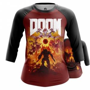 Женский реглан Doom eternal Мерч - main pdxytky0 1563460508