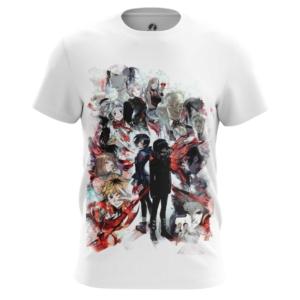 Мужская футболка Токийский гуль Мерч Одежда - main pefn5lnm 1563454642