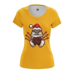 Женская футболка Росомаха Санта Люди икс - main petazs8y 1544538038