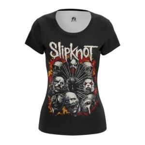 Женская футболка Slipknot Одежда С группой - main ppfiptyv 1562922293