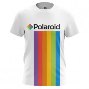 Мужская футболка Polaroid Радуга Логотип - main q2nztr9g 1572373596