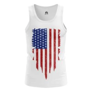 Мужская майка Флаг США Атрибутика - main q8ky45xh 1564417540