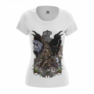 Женская футболка Варяги Викинги - main qwfxkwfc 1568897536