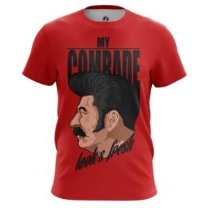 Мужская футболка Вождь Стиляга Мерчандайз Сталин - main rc2smdgb 1554199697
