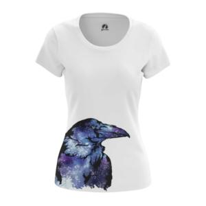 Женская футболка Raven Принт с Вороной - main rgyq5h4m 1573836777