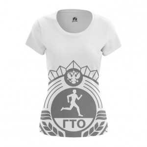 Женская футболка ГТО СССР - main rku1wjze 1571907566