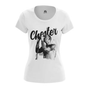 Женская футболка Chester Bennington Принт Linkin Park - main rtdwm32x 1552749888
