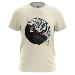 Мужская футболка Тигр и пантера Пантеры - main sz5pvo3w 1573843192