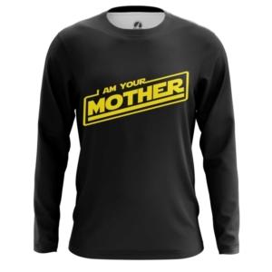 Мужской лонгслив Звездные войны Я твоя мать Яжмать - main t4dxgdw6 1561051421