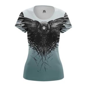 Женская футболка Трехглазый ворон Игра престолов - main t5hbvfwn 1573836963