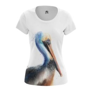 Женская футболка Пеликан Одежда с птицами - main t8i7lfiq 1573843735