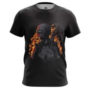Мужская футболка Игра PUBG Чёрная - main u4pdafhb 1568895582