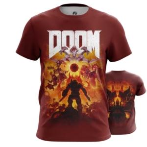 Мужская футболка Doom eternal Мерч - main u7r6uqms 1563460477