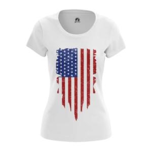 Женская футболка Флаг США Атрибутика - main u9ida7xl 1564417536