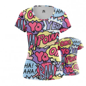 Женская футболка Поп арт Краски принт паттерн - main ueafnus7 1538408669