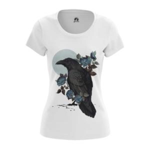 Женская футболка Ворон Вороны - main unjmwbqa 1573837171