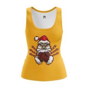 Женская майка Росомаха Санта Люди икс - main utqbkewl 1544538046