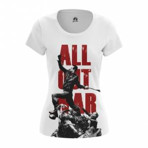 Женская футболка All Out War Ходячие мертвецы - main uugo72jd 1568891137