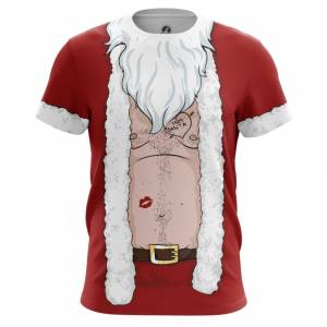 Мужская футболка Плохой Санта Костюм Деда Мороза - main vzjm5lxi 1544448612