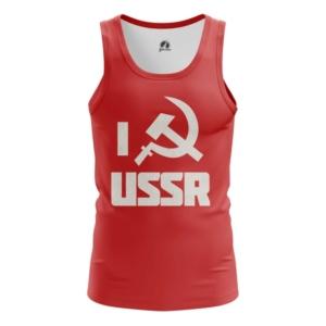 Мужская майка I USSR Мерч СССР - main w15vwiyv 1554233857