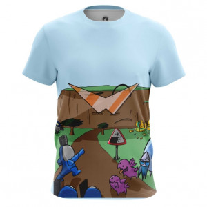 Мужская футболка Starcraft карбот рисовка - main we8w3lvv 1568204413