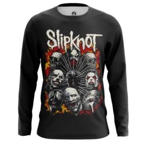 Мужской лонгслив Slipknot Одежда С группой - main xbjxnchx 1562922310