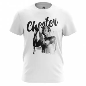 Мужская футболка Chester Bennington Принт Linkin Park - main xudup2jm 1552749868