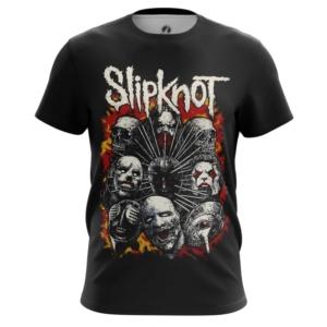 Мужская футболка Slipknot Одежда С группой - main xvkeksyz 1562922287