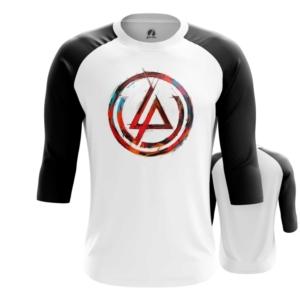 Мужской реглан Логотип Linkin Park Белая - main yc7pfrc7 1552750366