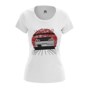 Женская футболка JDM Японские Машины Ниссан - main yw5mfojn 1564429294