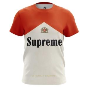 Мужская футболка Supreme cigarettes Поп арт - main zjusqmfc 1538409296