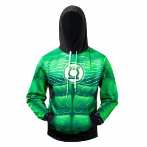 Худи Зелёный фонарь Логотип Принт Свитшот - s l800 415