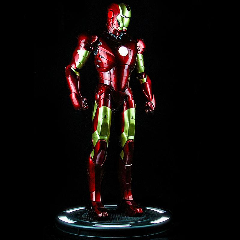 Статуя Железный человек Ростовая MK3 Красный Золото 1/2 - tb2nzrgatni8kjjsszbxxb4kfxa 2641124839 1