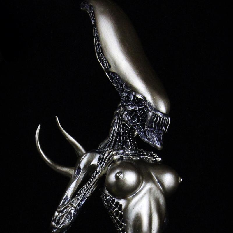 Статуя Чужой Ксеноморф Человек 18+ Цвет Бронзы 1:6 - tb2uf0fxjuo.ebjszfcxxxulfxa 2641124839 1