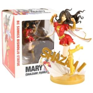 Статуэтка Мэри Марвел Коллекционная 20 см ПВХ Леди Шазам - bishoujo shazam mary batson 1 7