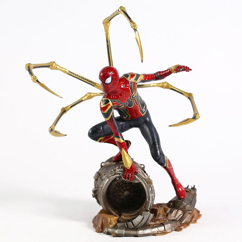 Фигурка Человек-паук PS4 Коллекционная Версия ПВХ Версия Playstation - h352405c3e8084e38b5650bf5d6218fbds