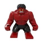 Красный Халк Фигурка Lego Безумие Разозлённый Red Hulk - marvel endgame 8