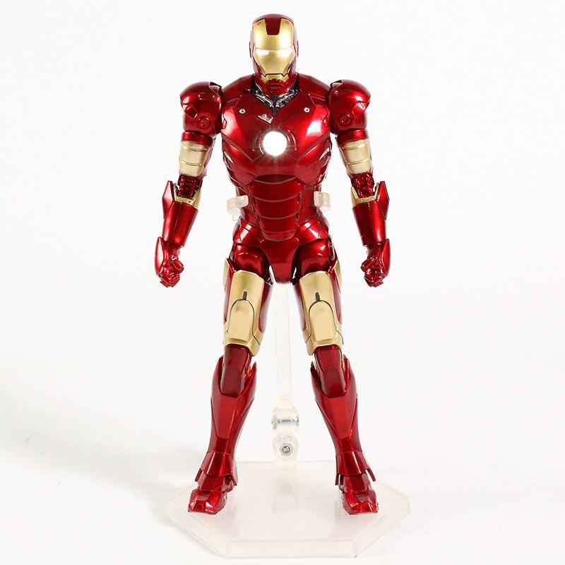 Оригинальная фигурка Железный Человек Mark Vl Светодиод - h0a38a1fe82bb43508db7df4f77276494m