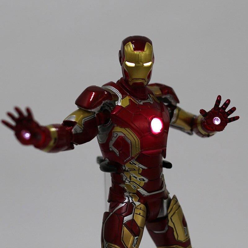 Экшн-Фигурка Железный Человек МК 43 МК 42 Светодиодная Мстители - h0bf52421bdb74d62a7777cdf70bbd9d7k