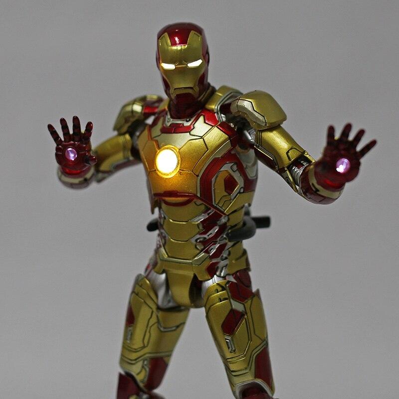 Экшн-Фигурка Железный Человек МК 43 МК 42 Светодиодная Мстители - h1ab3603133444dd6b74a2ccb3518a682i