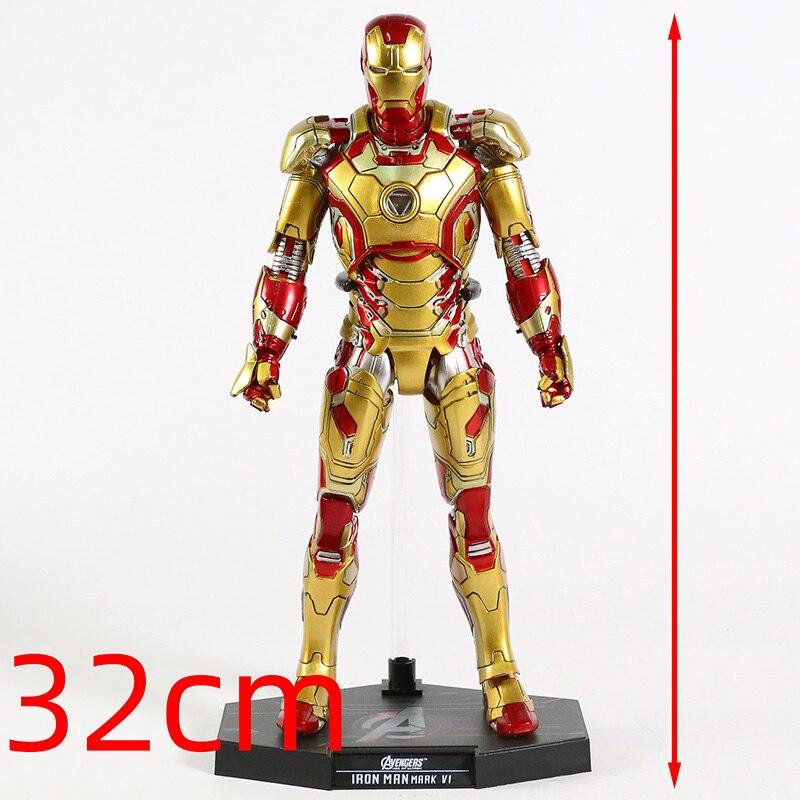 Экшн-Фигурка Железный Человек МК 43 МК 42 Светодиодная Мстители - h1af5acce24164e148f54bc7c8140a6474