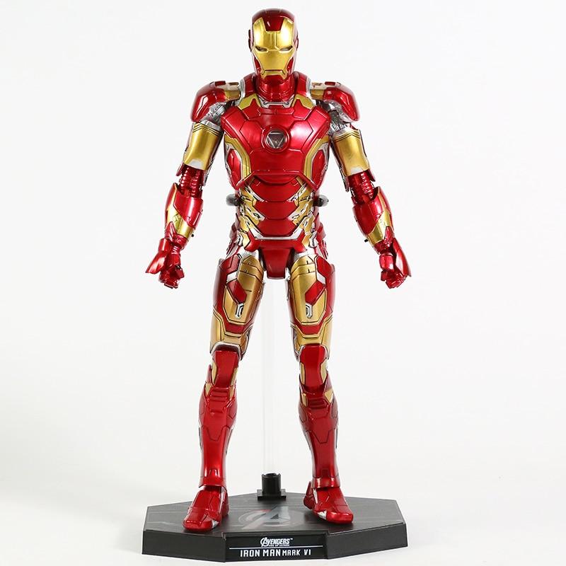 Экшн-Фигурка Железный Человек МК 43 МК 42 Светодиодная Мстители - h2f55f44e7abf4dd48ef5df3da3517d5cv