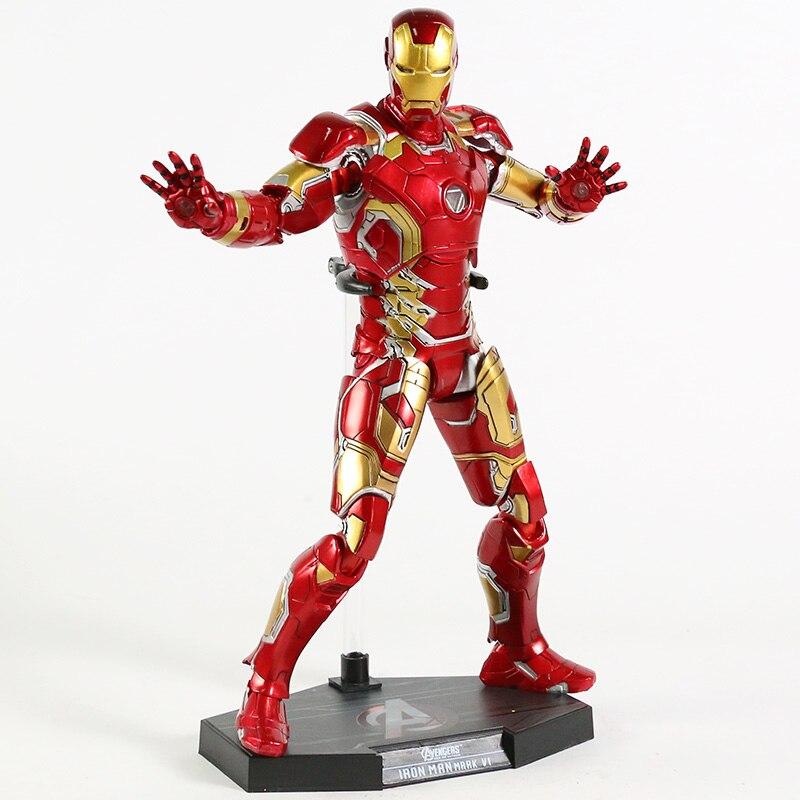 Экшн-Фигурка Железный Человек МК 43 МК 42 Светодиодная Мстители - h3d5189b68a8e438491b0d2d16b3584c95