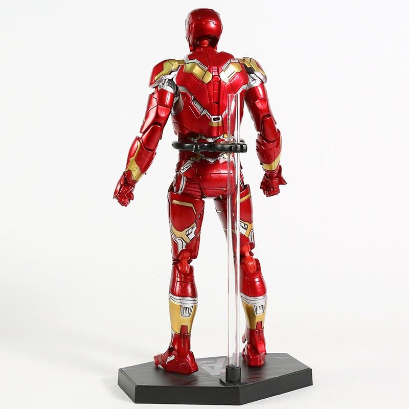 Экшн-Фигурка Железный Человек МК 43 МК 42 Светодиодная Мстители - h3f9622676c6f4ca98518fc856dc55c11s