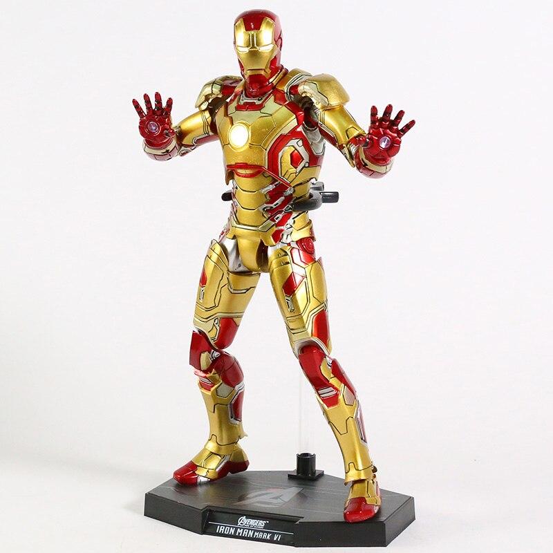 Экшн-Фигурка Железный Человек МК 43 МК 42 Светодиодная Мстители - h42c8fe33040a445ab7eebdf1f05344b9m
