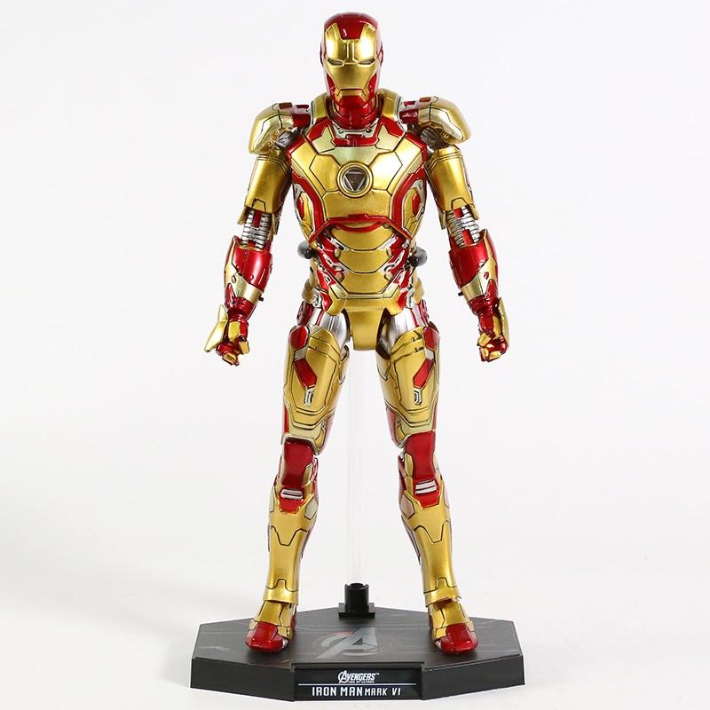 Экшн-Фигурка Железный Человек МК 43 МК 42 Светодиодная Мстители - h568d05190bb3438a80c6c140a53e82b1p