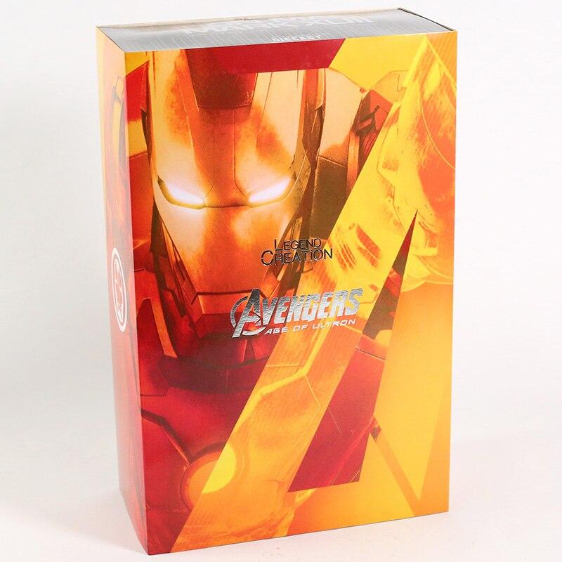 Экшн-Фигурка Железный Человек МК 43 МК 42 Светодиодная Мстители - h58dbfaba0be4457b80a65952a34ae6156